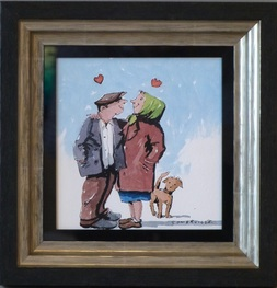 lots-of-love-III-George-Somerville-Original-Painting